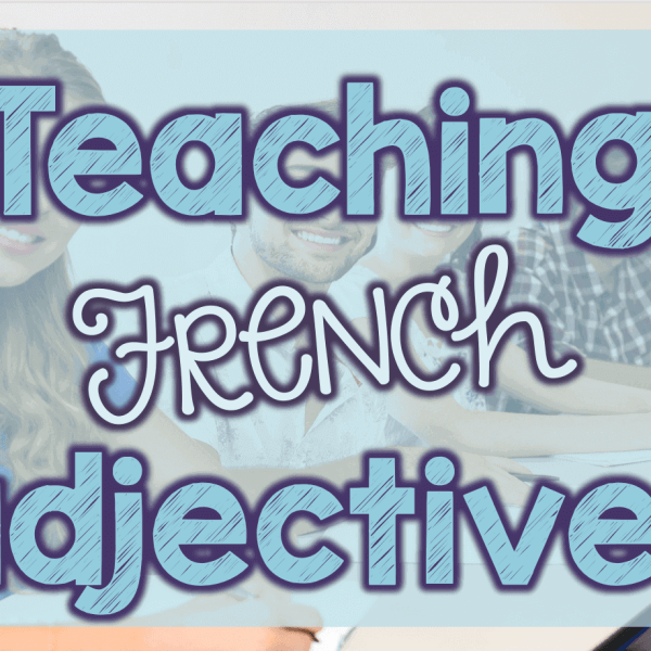 Teaching French adjectives