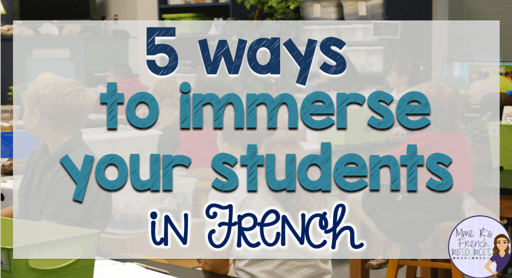 immerse-students-French