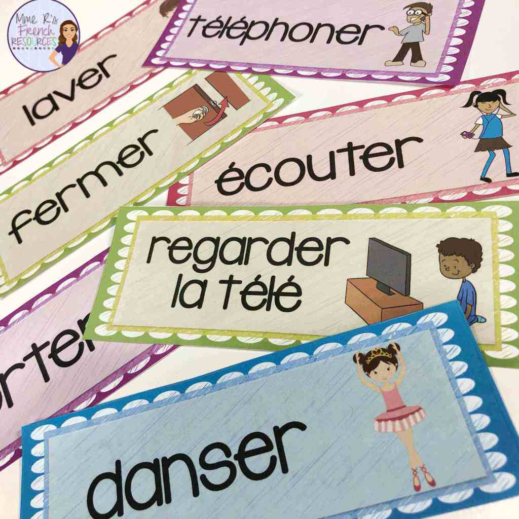french-er-verbs-word-wall