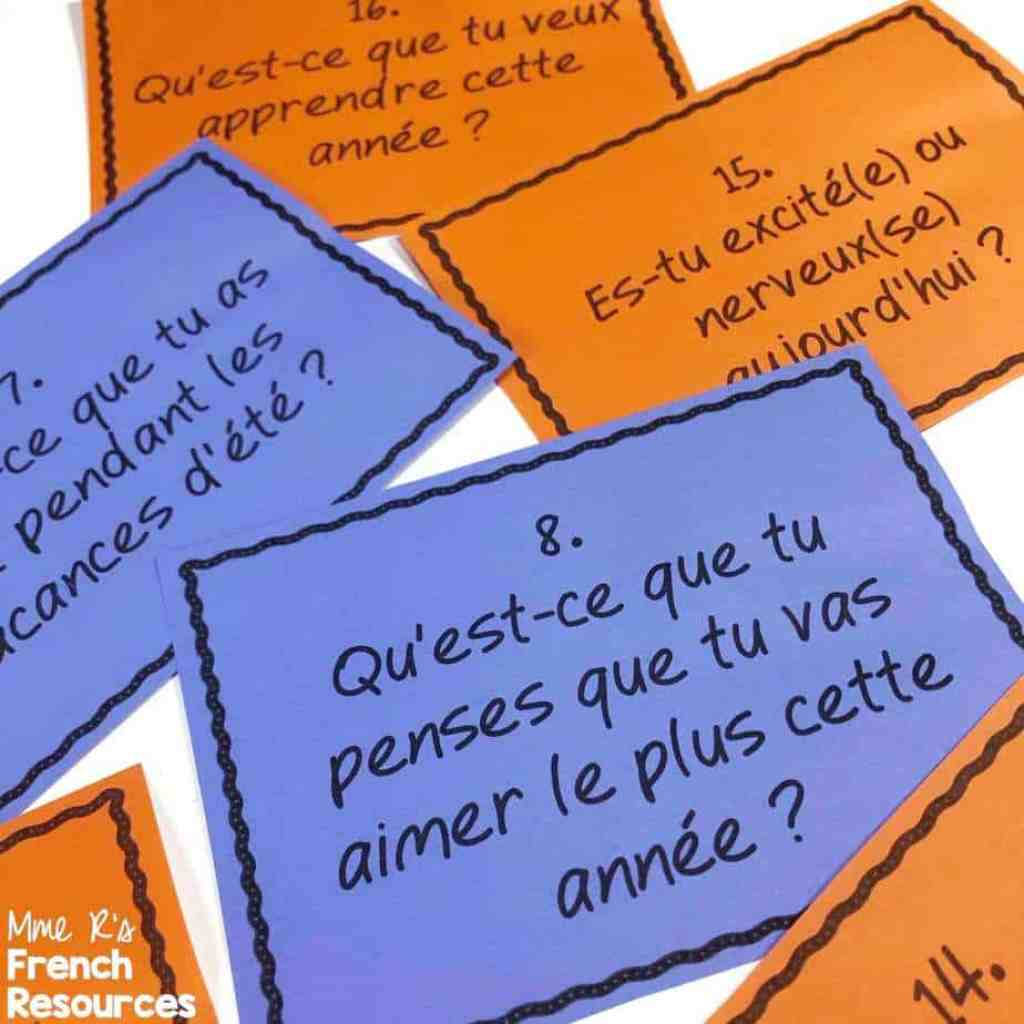 French-ice-breakers-for-first-day-of-school