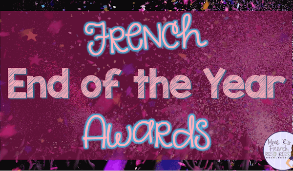 French end of the year awards