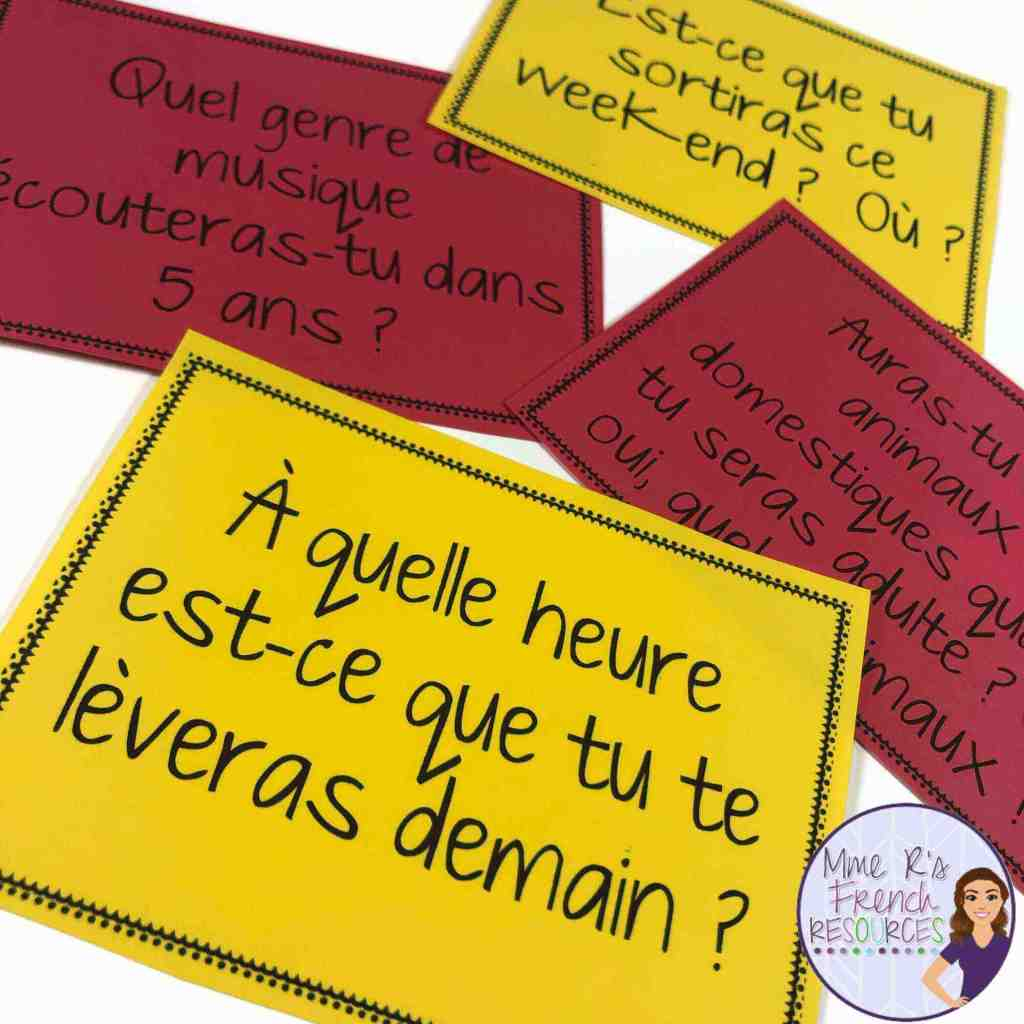 French-futur-simple-speaking-activity