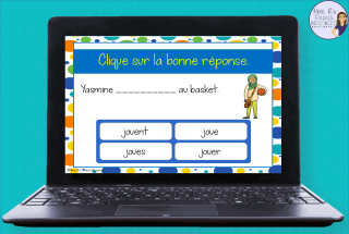 French-er-verbs-task-cards
