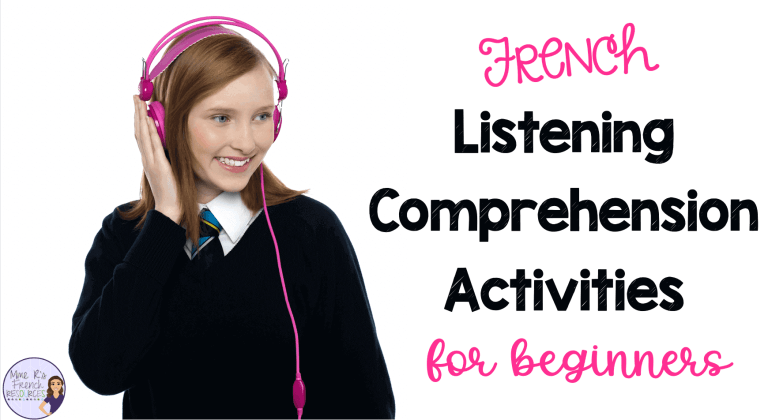 French-listening-comprehension-activities