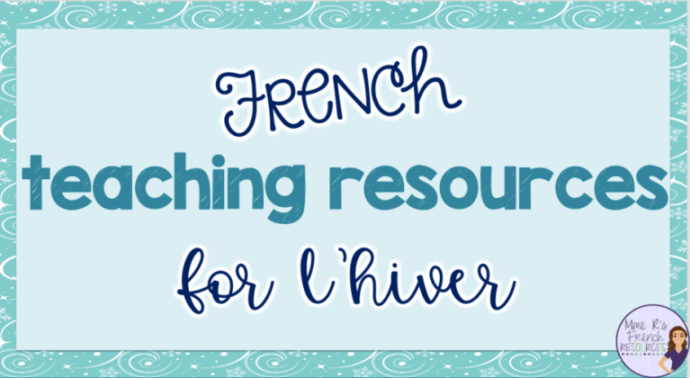 French-winter-teaching-resources