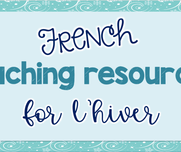 My favorite French winter teaching resources