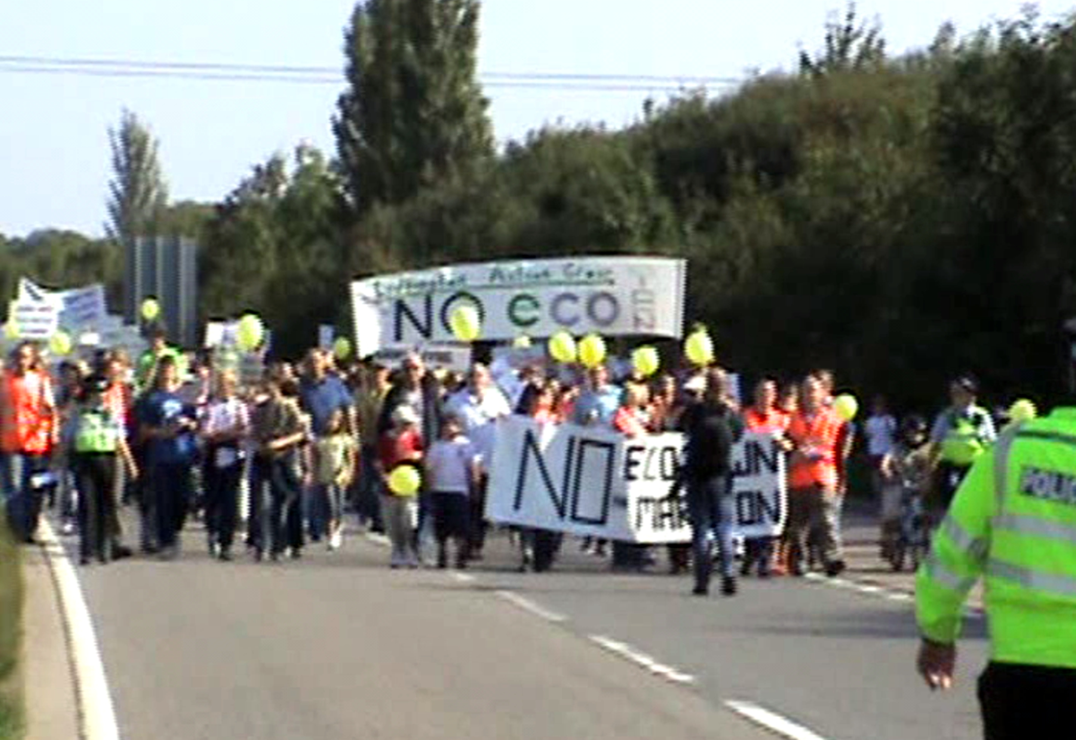 MMETAG March on A421