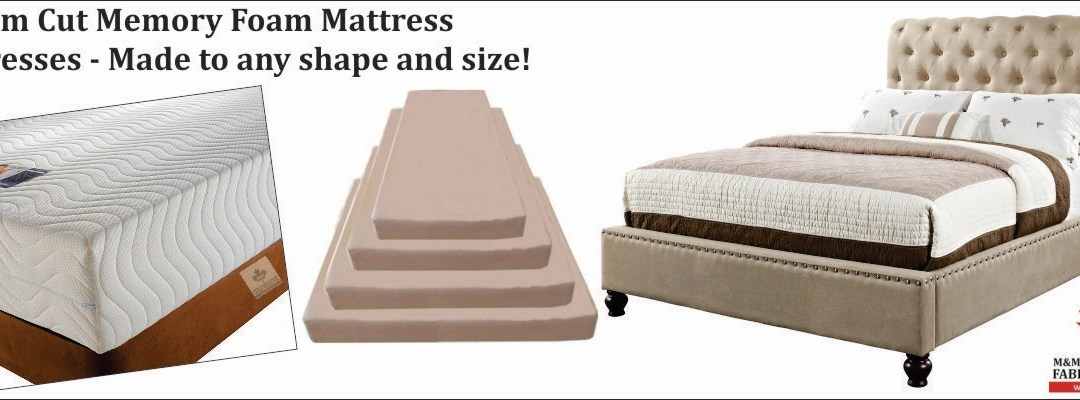 Memory Foam Mattresses – Made to any shape and size!