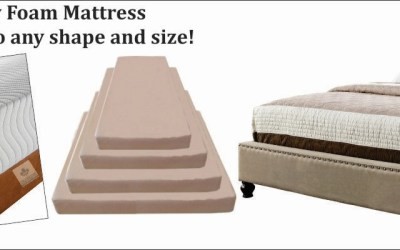 Memory Foam Mattresses –Made to any shape and size!