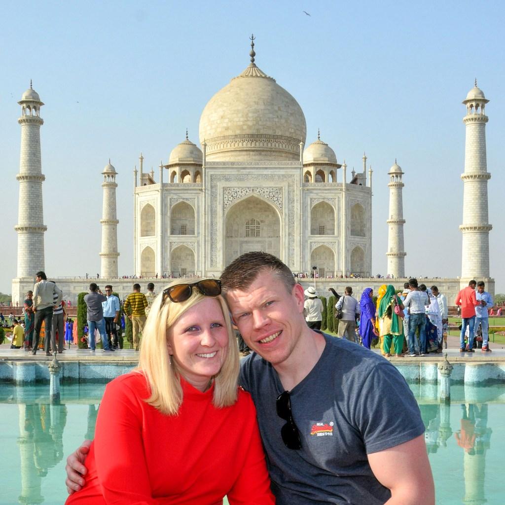 Indien: Taj Mahal und Rotes Fort in Agra