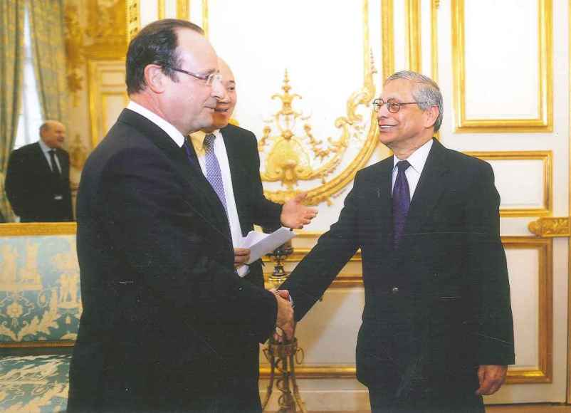 Received by the President of France - MMF