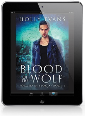 Blood of the Wolf by Holly Evans