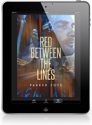 Red Between the Lines by Parker Foye Release Blast, Excerpt & Giveaway!