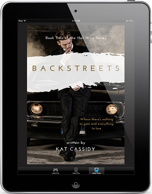 Back Streets by Kat Cassidy Blog Tour, Guest Post & Excerpt, & Giveaway!