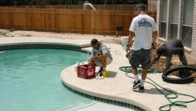 Residential Pool Construction - Pool Startup