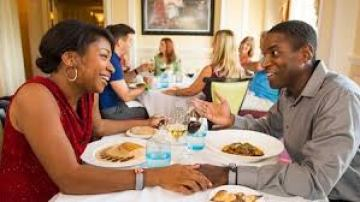 Image result for deluxe dining wdw