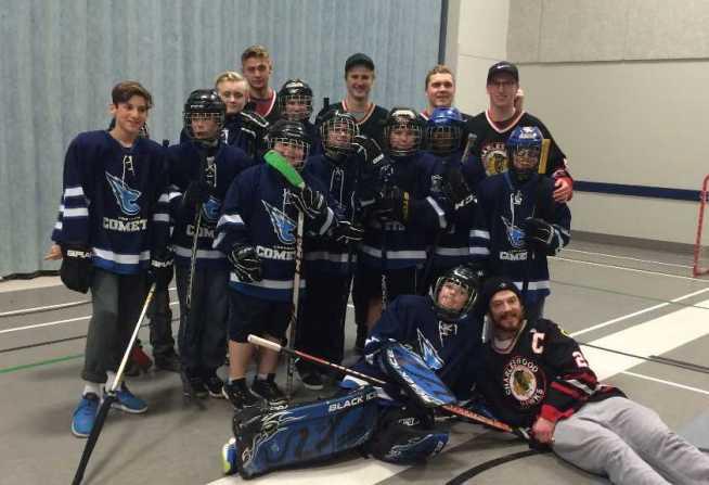 Floor Hockey Team Pic