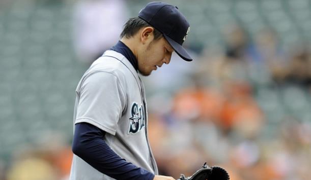 【MLB】マリナーズ・岩隈が今季12勝目、8回を投げ4安打無四球11奪三振で無失点