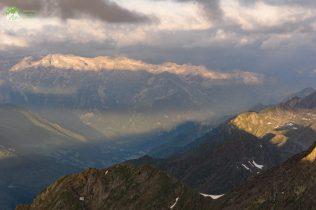 L'ombre du Pic du midi de Bigorre - yrénées Réserve de Néouvielle - 2017