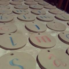 S  C Custom carved tags