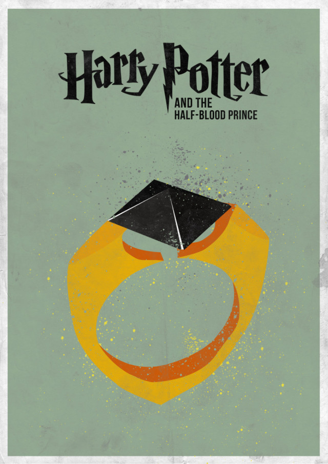 7 Minimal Harry Potter Film Posters Mmminimal