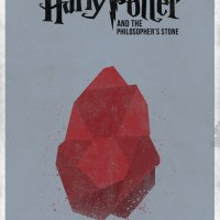 7 Minimal Harry Potter film Posters