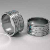 Futuristic Genius: Ring Clock | Mechanical Jewellery