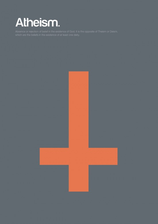 Minimal Philosophy Poster Series By Genis Carreras