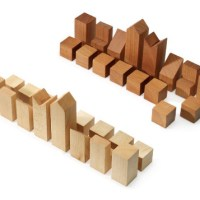 Minimal Wood Chess Set by Lanier Graham