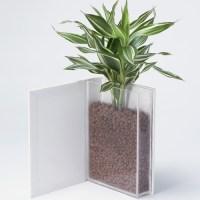Book-Shaped Flower Pot