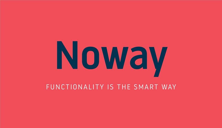Download Free Font: Noway - mmminimal