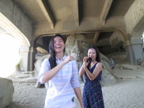 the Fremont Troll! with the billy goats, you know
