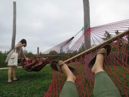 hammocking @ Governor's Island! NYC checklist, check-ed.