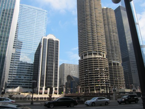 Chicago is clean and stately.