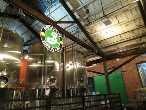 Brooklyn Brewery! good beers.
