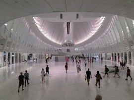 @ the Oculus, in search of the 9/11 Memorial. which we never quite found. it was late and dark and we were so tired.