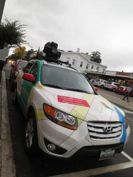 GOTCHA googlecar! mahahaha