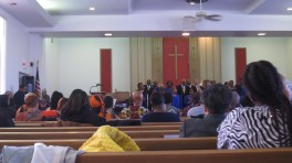 """@ John's church for a """"gospel extravaganza"""" -- sans Isaac, exhausted, but rejuvenated by this."""