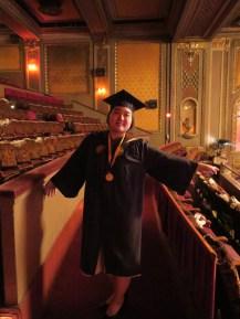 the graduate! so proud, so graceful