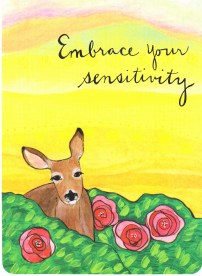 week 12 Embrace your sensitivity