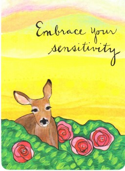 week 12 Embrace your sensitivity