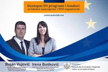 Najava: predstavljanje dostupnih EU programa