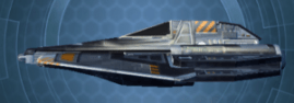 Corellian Stardrive Stealth - Right