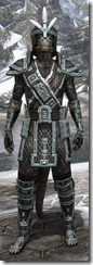 Argonian Brigandine - Male VR1 Fine Front