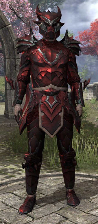 Eso Xivkyn Corundum Heavy Armor Set Male