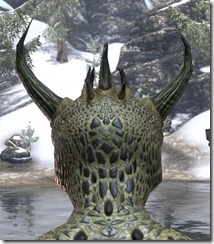 Daedra Horns with Spine Cluster 3