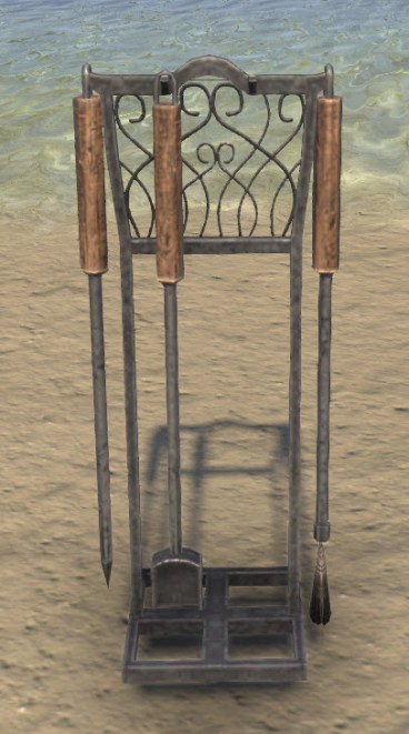 Fireplace Tools, Wrought Iron
