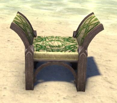 High Elf Armchair, Backless Verdant