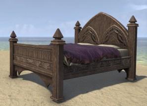 High Elf Bed, Polished Full