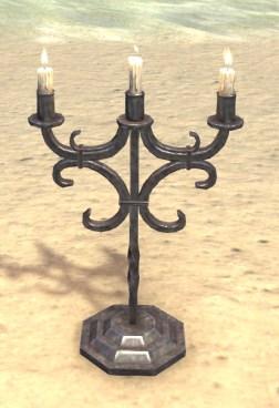 High Elf Candelabra, Wrought Iron
